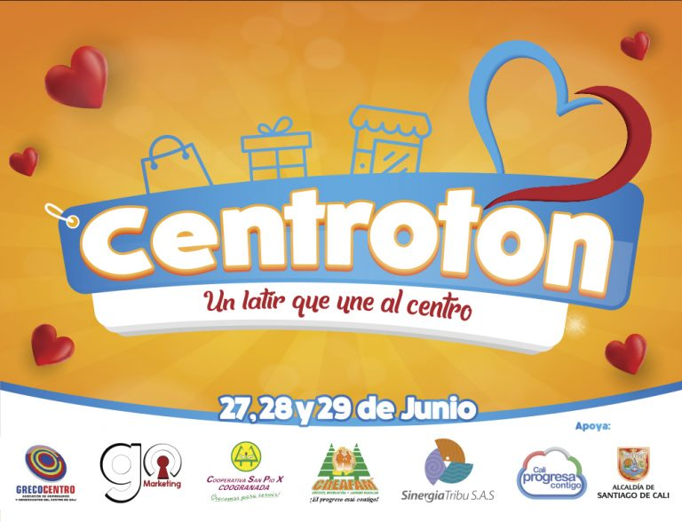 centrotón go marketing evento centro de cali